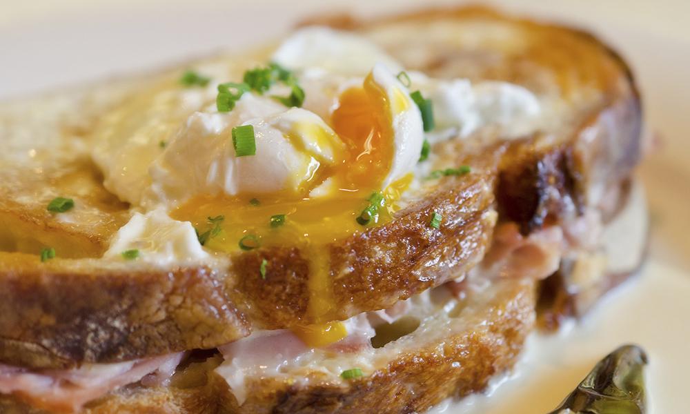 Best Hot Sandwiches | Croque Madame