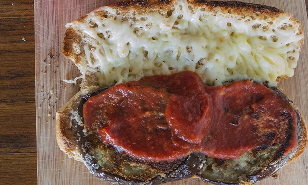 Best Hot Sandwiches | Eggplant Parm