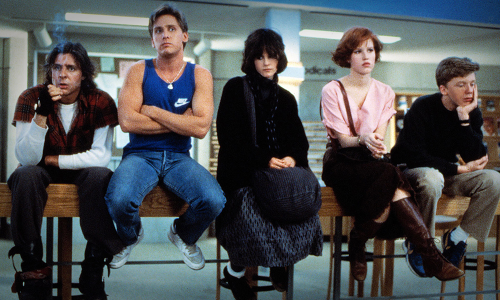 Best High School Angst Movies - Breakfast Club