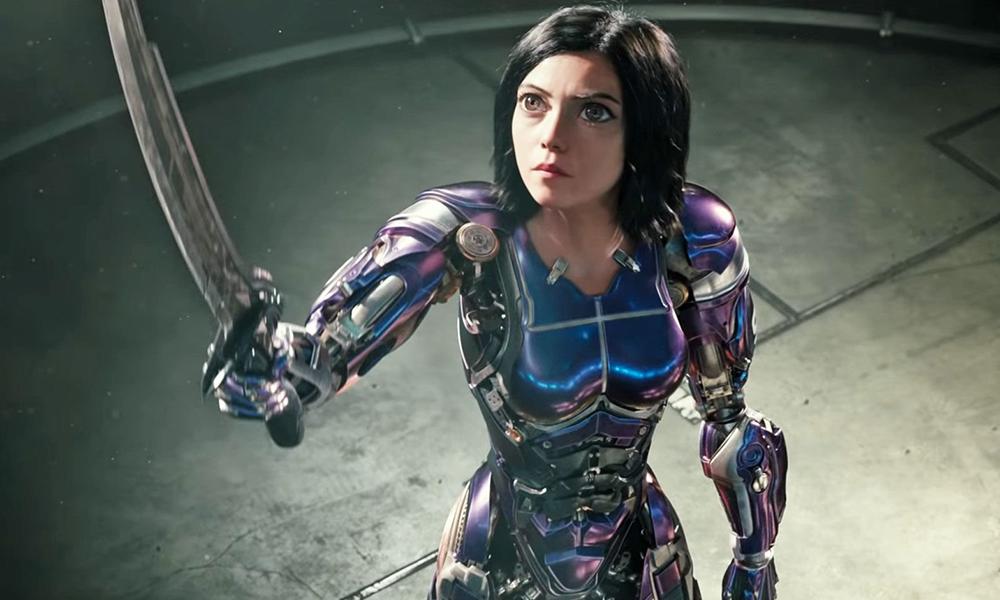 Best 3D Movies - Alita Battle Angel