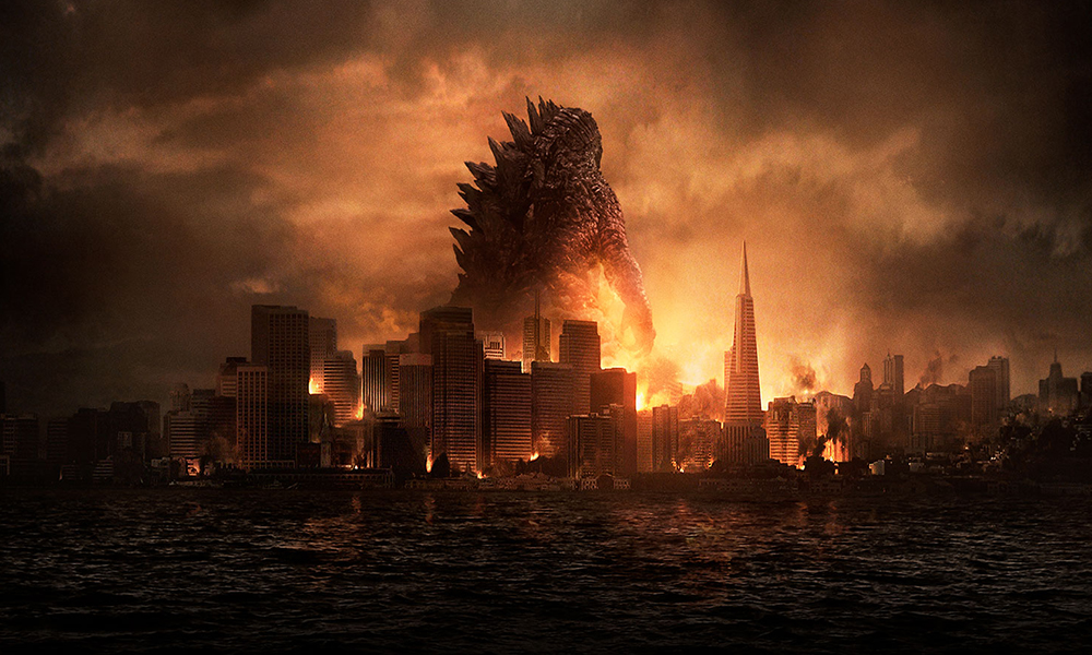 Best 3D Movies - Godzilla