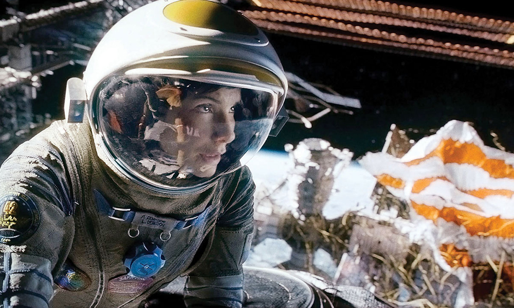 Best 3D Movies - Gravity