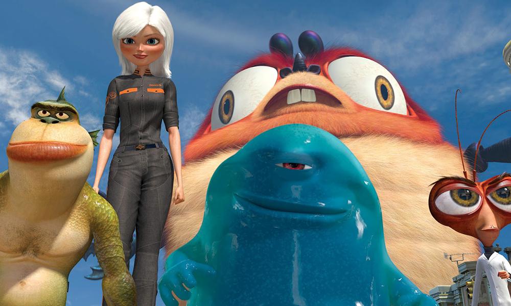 Best 3D Movies - Monsters Vs Aliens
