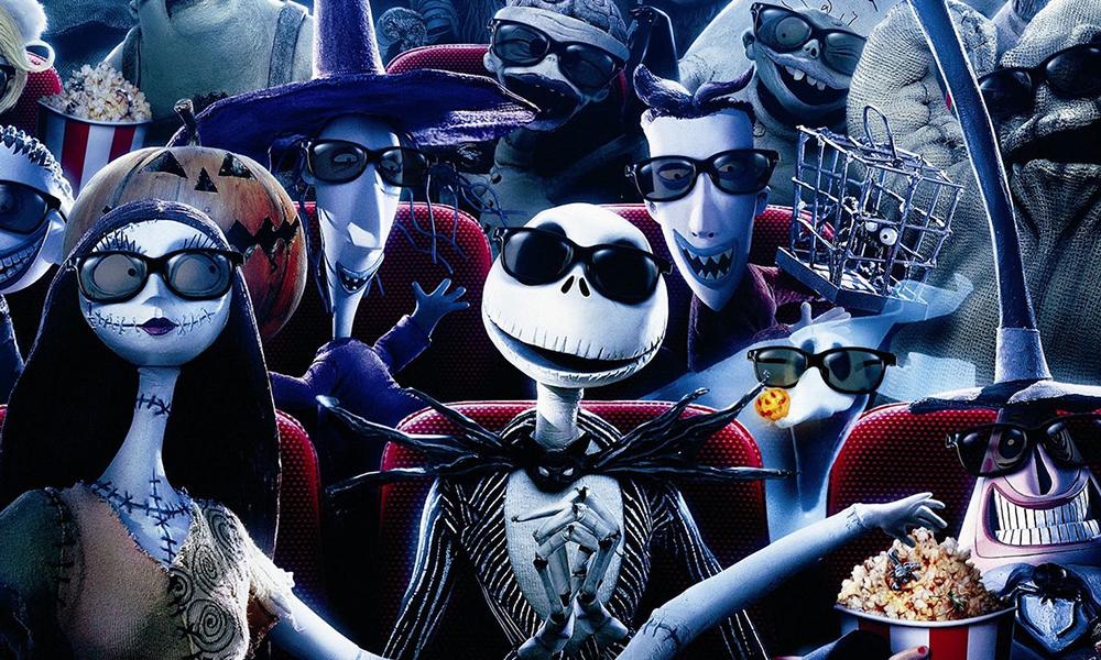 Best 3D Movies - Nightmare Before Christmas