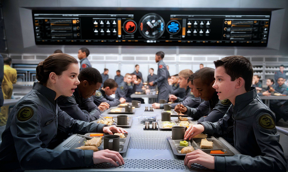 Best Movies That Take Place in VR - Ender's Game