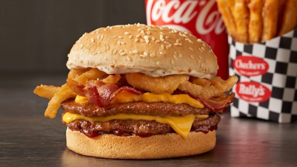 Best Fast Food Burger - Checkers Bacon Roadhouse