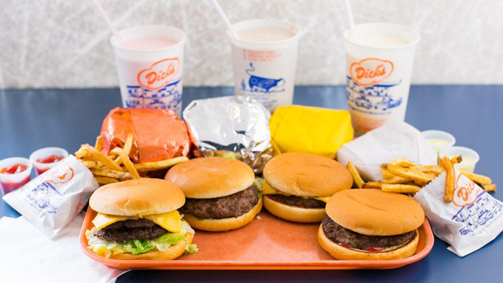 Best Fast Food Burger - Dicks Drive In