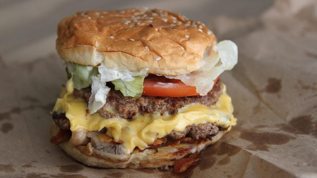Best Fast Food Burger - Five Guys Bacon Cheeseburger