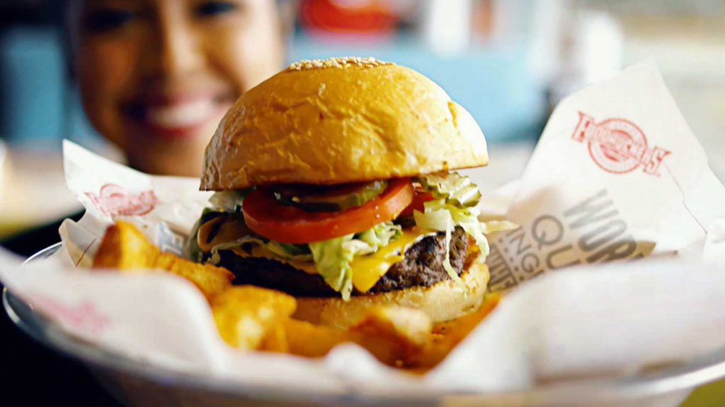 Best Fast Food Burger - Fudruckers