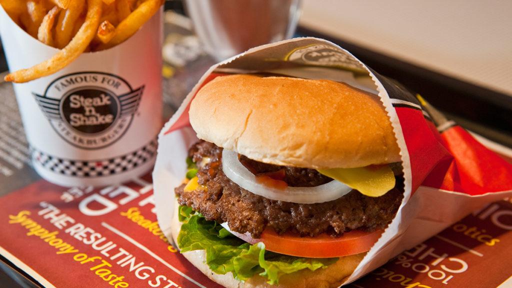 Best Fast Food Burger - Steak n Shake