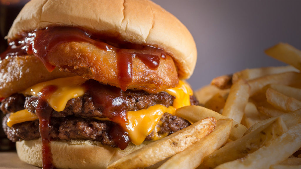 Best Fast Food Burger - Wayback Burgers The Rodeo